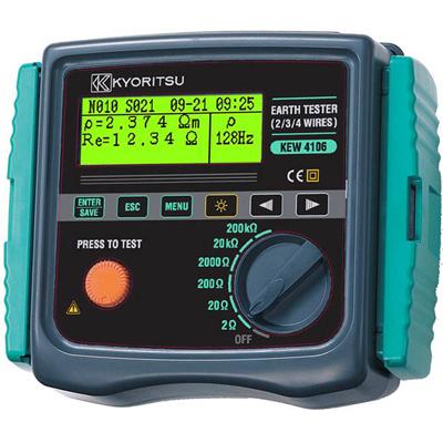 共立KEW 4106接地电阻测试仪|KEW4106接地电阻仪 咨询优惠价格
