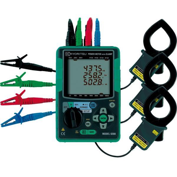 共立MODEL 6300电能质量分析仪|MODEL6300便携式功率分 咨询优惠价格
